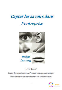 Page de garde livre blanc Design learning