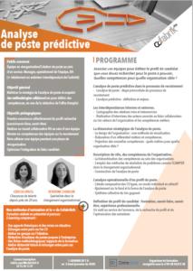 Analyse de poste predictive