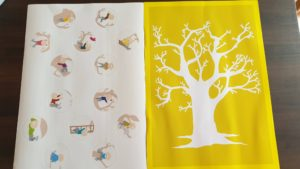 stickers et arbre à personnages
